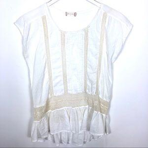 Altar'd State Crochet Lace Blouse Top